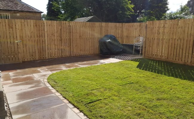 Garden Refurb After Picture